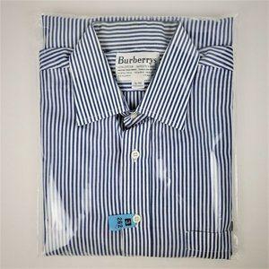 Burberrys Mens Long Sleeve Button Dress Shirt !